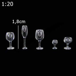 Bộ ly mô hình tỉ lệ 1:20 VM07-D03