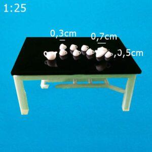 Bộ tách trà mô hình tỉ lệ 1:25 VM07-D04
