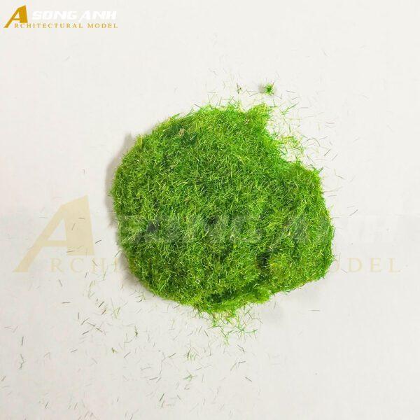 Bột cỏ mô hình loại sợi màu xanh nhạt vàng HH02-BCQS0102