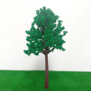 Cây mô hình thân nhựa có lá mẫu 2 10cm VM04-N06