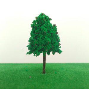 Cây mô hình thân nhựa có lá mẫu 2 4cm VM04-N05