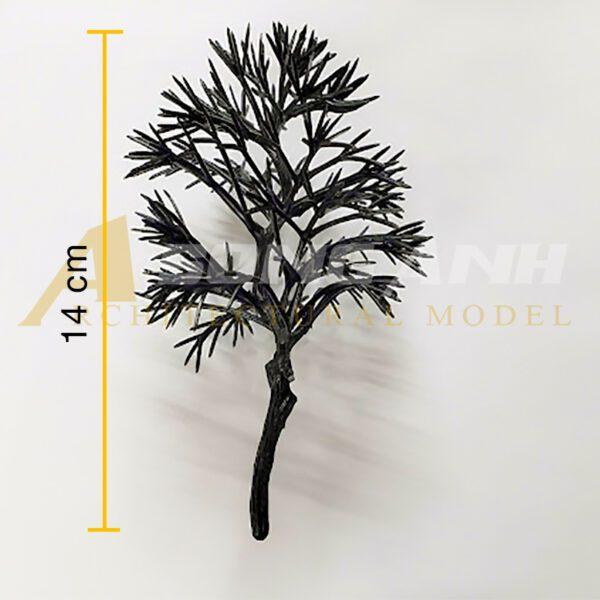 Cây khô mô hình mẫu 14 - 14 cm