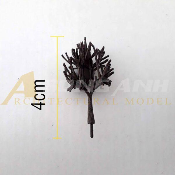 Cây khô mô hình không lá 4 cm - mẫu 9