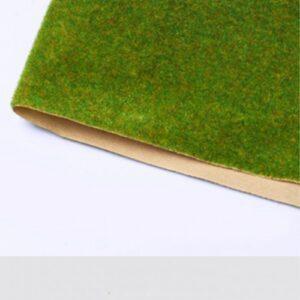 Thảm cỏ xanh vàng VM02-T03 tấm 25cm x 30cm