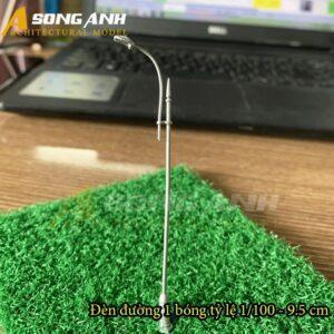 Đèn đường mô hình 1 bóng loại 2 - 9.5 cm tỉ lệ 1/100 HH03-DDAB0102100