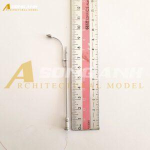Đèn đường 1 bóng loại 2 10 cm tỉ lệ 1/100 HH03-DDAB0102100