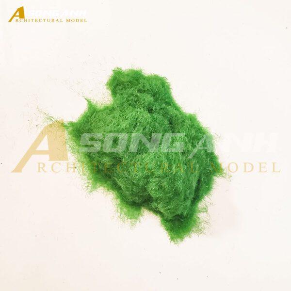 Bột cỏ mô hình loại sợi màu xanh nhạt HH02-BCQS0101