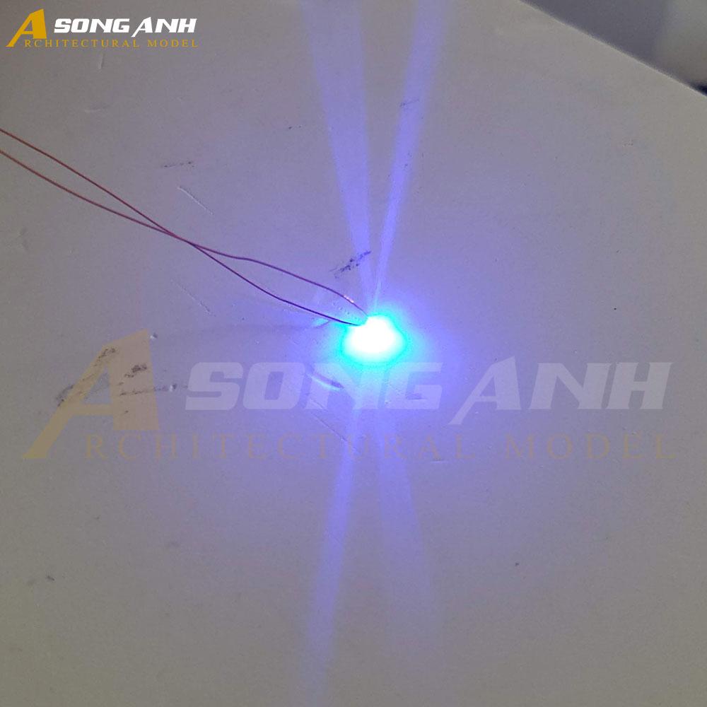 Đèn LED sợi màu xanh dương