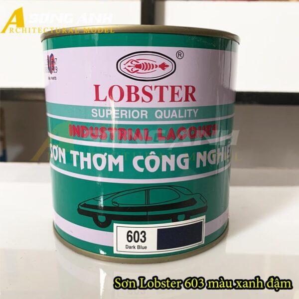 Sơn thơm Lobster xanh đậm 603 lon 1 kg CN02-STGHLOB60301