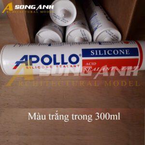 Keo Silicon Apollo trắng trong 300 ml VL02-KKNV0601