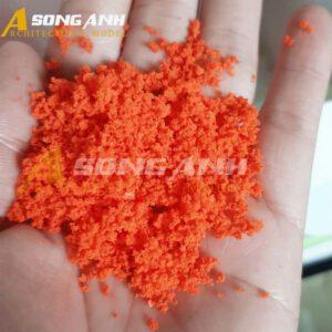Bột cây mô hình màu cam loại bột HH02-BAQSONG01