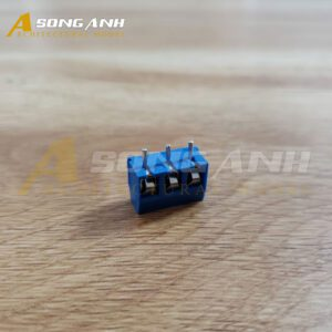 KF301-3-R Domino 3 Chân Thang 5.08mm Hàn PCB