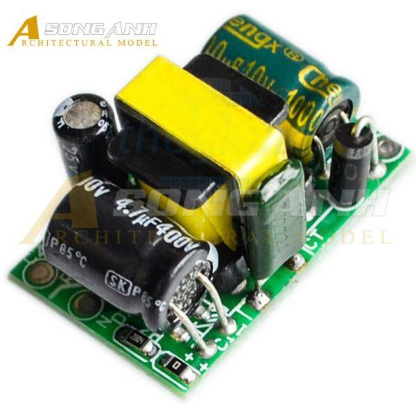 Mạch Chuyển Đổi AC-DC Vào 220V Ra 5V 0.7A 3.5W