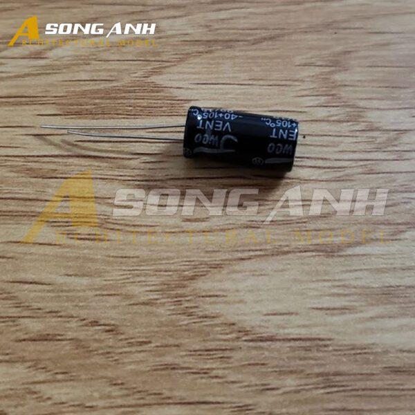 Tụ Hóa 1000uF 16V 10x20mm Xuyên Lỗ