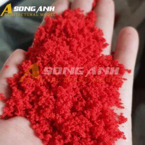 Bột cây mô hình màu đỏ loại bột HH02-BAQSRED01