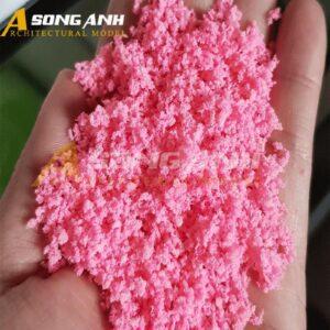 Bột cây mô hình màu hồng loại bột HH02-BAQSPNK01