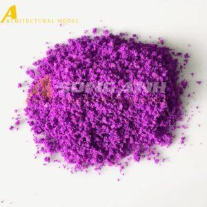 Bột cây mô hình màu tím loại bột HH02-BAQSPLE01