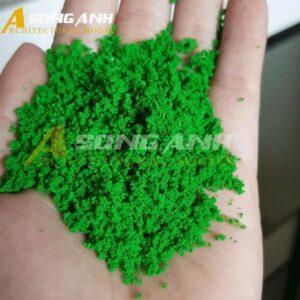 Bột cây mô hình xanh lá cây loại bột HH02-BAQSGRN01