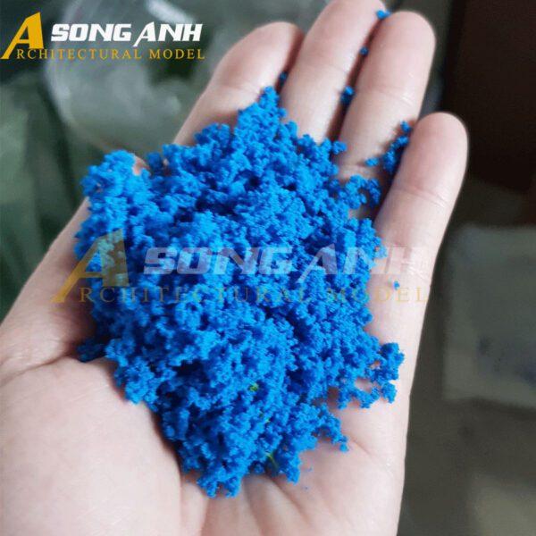 Bột cây mô hình màu xanh dương loại bột HH02-BAQSBLU01