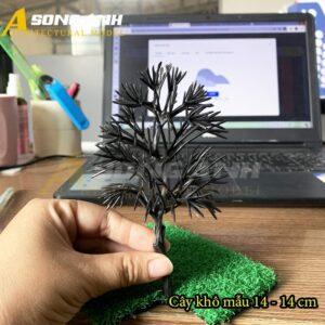 Cây khô mô hình mẫu 14 - 14 cm HH04-CKQS1414