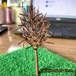 Cây khô mô hình mẫu 2 - 10 cm HH04-CKQS0210