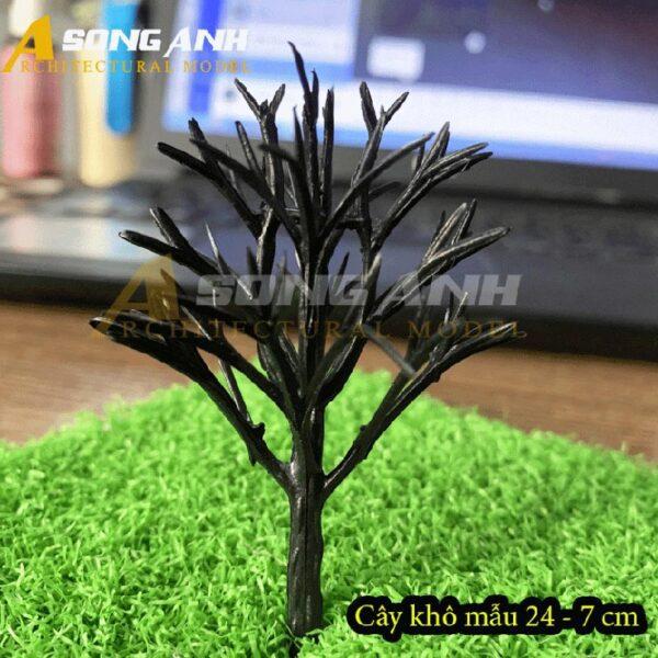 Cây khô mô hình mẫu 24 - 7 cm HH04-CKQS2407