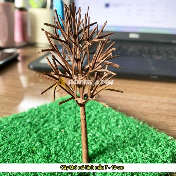 Cây khô mô hình mẫu 7 - 10 cm