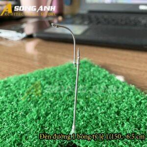 Đèn đường mô hình 1 bóng loại 2 - 6.5 cm tỉ lệ 1/150 HH03-DDAB0102150