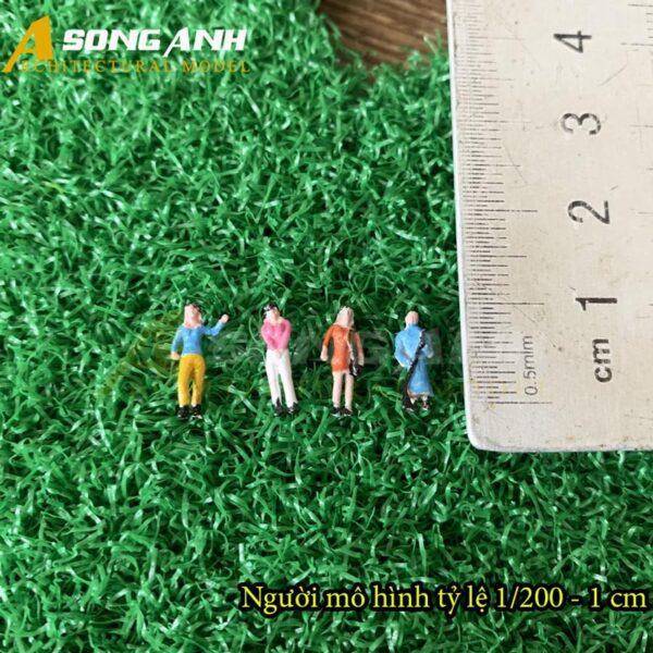 Người mô hình mini 1 cm tỉ lệ 1/200 HH05-NMAB01200