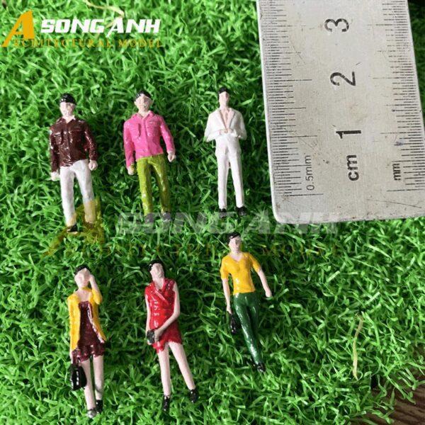 Người mô hình mini 2 cm tỉ lệ 1/100 HH05-NMAB01100