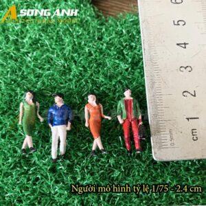 Người mô hình mini 2,4 cm tỉ lệ 1/75 HH05-NMAB0175