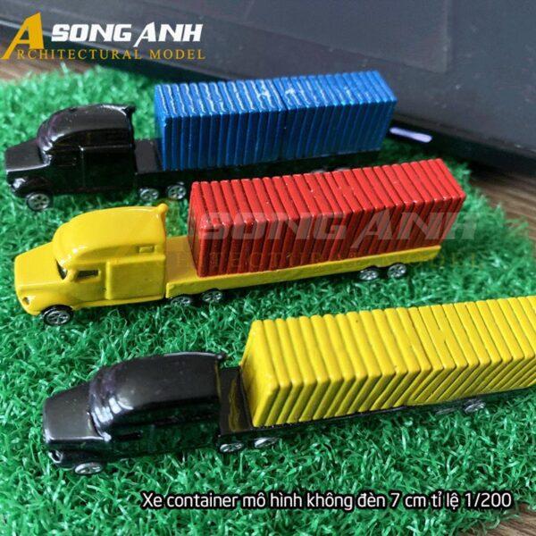 Xe container mô hình không đèn 7 cm tỉ lệ 1/200 HH01-XCAB02200