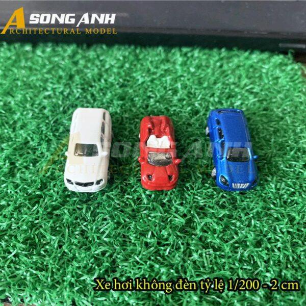 Xe hơi mô hình không đèn 2 cm tỉ lệ 1/200 HH01-XHAB02200