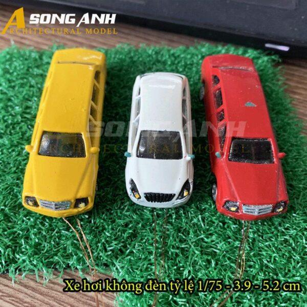Xe hơi mô hình không đèn 3.9 - 5.2 cm tỉ lệ 1/75 HH01-XHAB0275