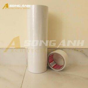 Băng Keo 2 mặt 5 cm lớp keo trắng trong VP01-BKNV0105WHI