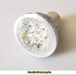 Đèn LED 4W màu vàng ấm