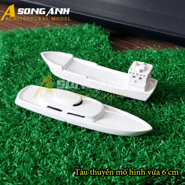 Tàu thuyền mô hình vừa 6 cm
