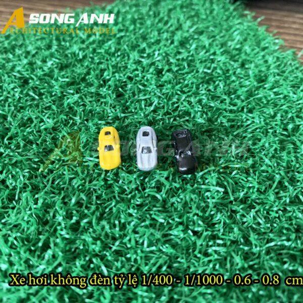 Xe hơi mô hình không đèn 0.5 cm tỉ lệ 1/500 HH01-XHAB02500