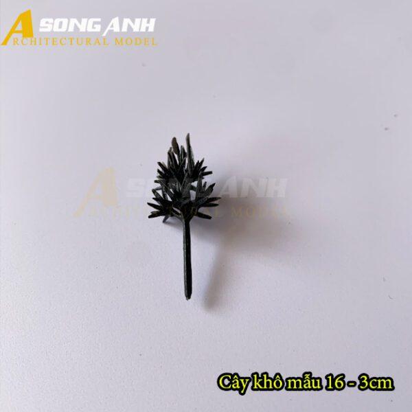 Cây khô mô hình mẫu 16 - 3cm