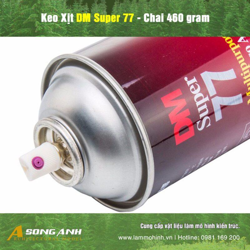 Keo xịt DM Super 77