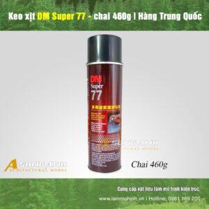 Keo xịt DM Super 77 - chai 460 gram